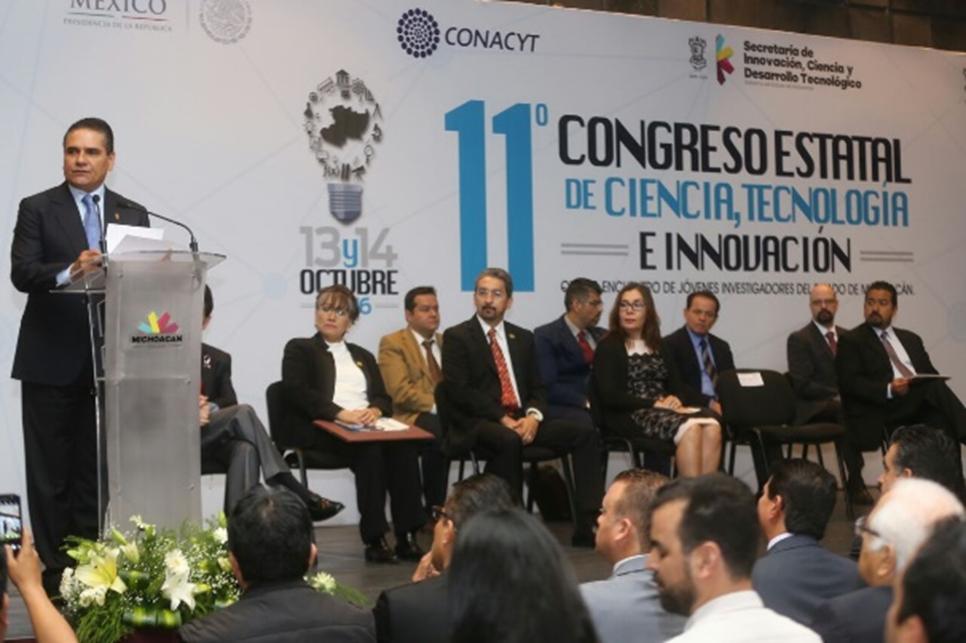 Estimulación de la investigación, fundamental para el desarrollo de Michoacán: Silvano Aureoles
