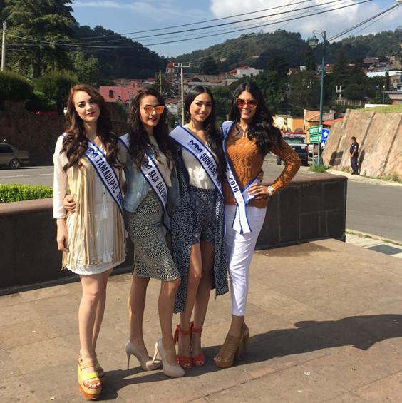 Graban participantes de Miss México promocionales de Michoacán