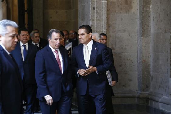 Logran Silvano Aureoles y Gobernadores del PRD comisión en SHCP para revisar presupuesto