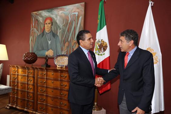 Estrechan colaboración Gobierno de Michoacán y UNODC para hacer frente a violencia
