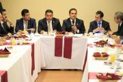 Encabeza Gobernador encuentro con sector empresarial de Uruapan