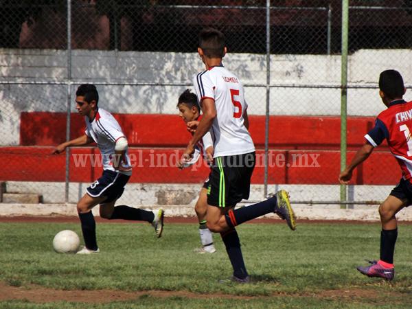 Todo listo, este sábado arranca la liga infantil de futbol en Jacona