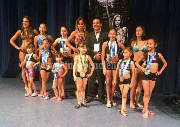 Excelentes resultados del Iron Fitness en Sr. México y Srta. México