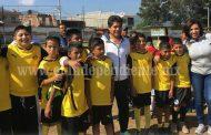 Arranca oficialmente Liga Infantil, Juvenil y Femenil de Futbol en Jacona