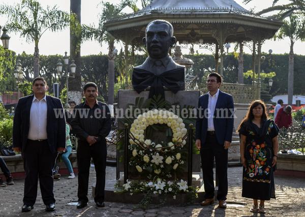 Conmemoran XLVI Aniversario Luctuoso del General Lázaro Cárdenas del Río