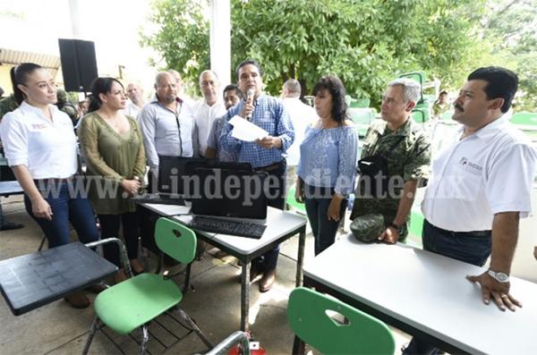 Mi decisión, generar las condiciones de bienestar para Pinzándaro, en el municipio de Buenavista: Silvano Aureoles