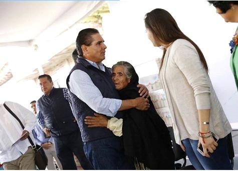 Continúan jornadas de salud visual; llegan a Felipe Carrillo Puerto y Pinzándaro, municipio de Buenavista