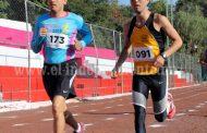 Sobresaliente participación de competidores en la olimpiada municipal de atletismo