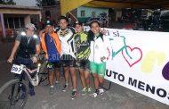 Habitantes de Villafuerte disfrutaron de la competencia de ciclismo de montaña
