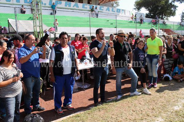 Olimpiada municipal terminó con cifras record en participación y premiación