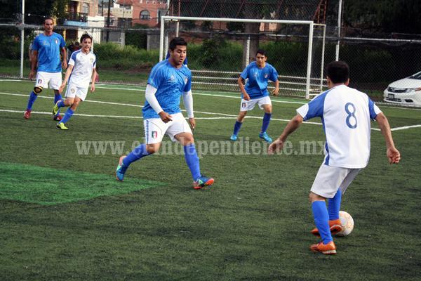 Dio inicio el Torneo de Copa de Futbol 7 Empresarial