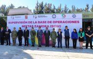 Encabeza Gobernador supervisión de la Base de Operaciones Mixtas de Zamora
