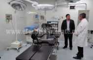 Comenzaron a funcionar quirófanos en el Hospital Regional