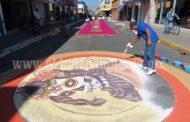 Uriangato engalana celebración de muertos en Zamora