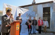 Arrancó construcción de aulas en la primaria Sor Juana Inés de la Cruz