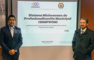 Tendrá Michoacán un innovador modelo de profesionalización municipal