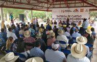 SEDRUA entregó cartas de autorización de apoyos de programas agrícolas