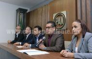 Diputados del PAN plantean mando mixto para resolver inseguridad en Michoacán