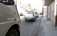 Restringirán estacionamiento de norte a sur en la calle Galeana