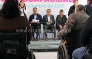 Inclusión de personas con discapacidad, tema toral en la agenda legislativa: Sigala