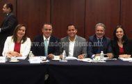Diputados se reúnen en el Senado para revisar avances en el Sistema Anticorrupción