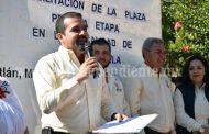 Rehabilitan espacios públicos de la plaza de La Estanzuela