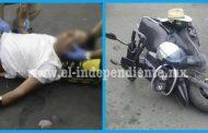 Septuagenario herido al ser arrollado por una joven motociclista