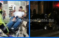 Joven es atacado a balazos frente al mercado Del Carmen en Zamora