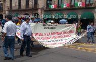 Condena el Gobierno del Estado actos de presión de la CNTE
