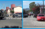 Se civiles se enfrentan a tiros en Zamora; un herido y un detenido