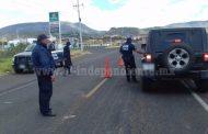 Tras enfrentamiento refuerza SSP y Sedena seguridad en Zamora