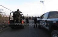 Civiles se enfrentan a tiros con Federales cerca de La Sauceda, en Zamora