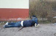 Maniatados y con impactos de bala encuentran cadáveres de una pareja en Jacona