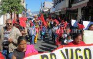 Tras manifestación y bloqueo de calles, Antorchistas logran pago a maestros