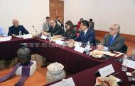 Sostiene Gobernador reunión con Comité Ciudadano de seguimiento al Plan Michoacán