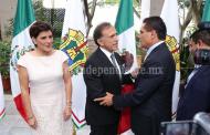 Asiste Silvano Aureoles a toma de protesta del Gobernador de Veracruz