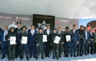 Avanza Michoacán en la formación de la mejor Policía del país: Silvano Aureoles