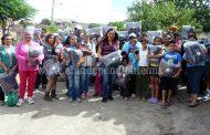 Noemí Ramírez lleva abrigo a más de 200 familias de escasos recursos