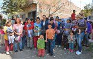 Diputada Adriana Campos brindó abrigo a familias jaconenses