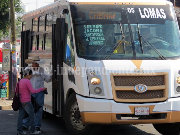 Carece de recursos sector de transporte público para renovar unidades