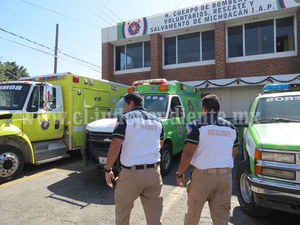 Rescate atendió más  de 3 mil  servicios de emergencia