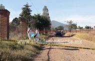 Encuentran a un adolescente muerto en brecha de Jacona