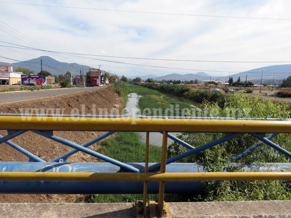 Iniciarán estudios para sanear agua y evitar contaminación del Río Duero