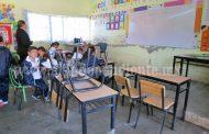 Comenzó la construcción  de 6 aulas nuevas en la  escuela Lázaro Cárdenas