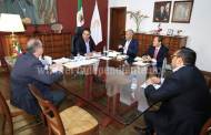 Revisa Gobernador avances de dependencias en acciones por el desarrollo de Michoacán