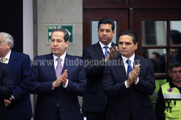Asiste Gobernador Silvano Aureoles a Sesión del Consejo Nacional de Protección Civil