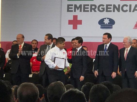 Tiene Michoacán instructor modelo en sistema de emergencia 9-1-1