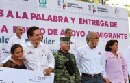 Continua entrega de recursos a migrantes para proyectos productivos
