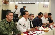 Revisan Gobernador y alcaldes resultados de estrategia de seguridad de la región Bajío