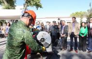 Encabeza Adrián López arranque de la campaña Canje de Armas 2017